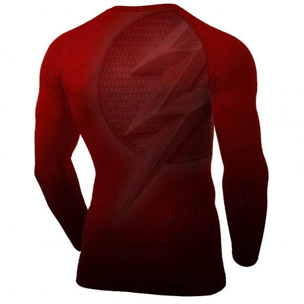 Rash Guard Flash Masculina Atlética