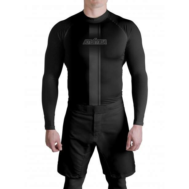 RAsh Guard Black A Masculina Atlética
