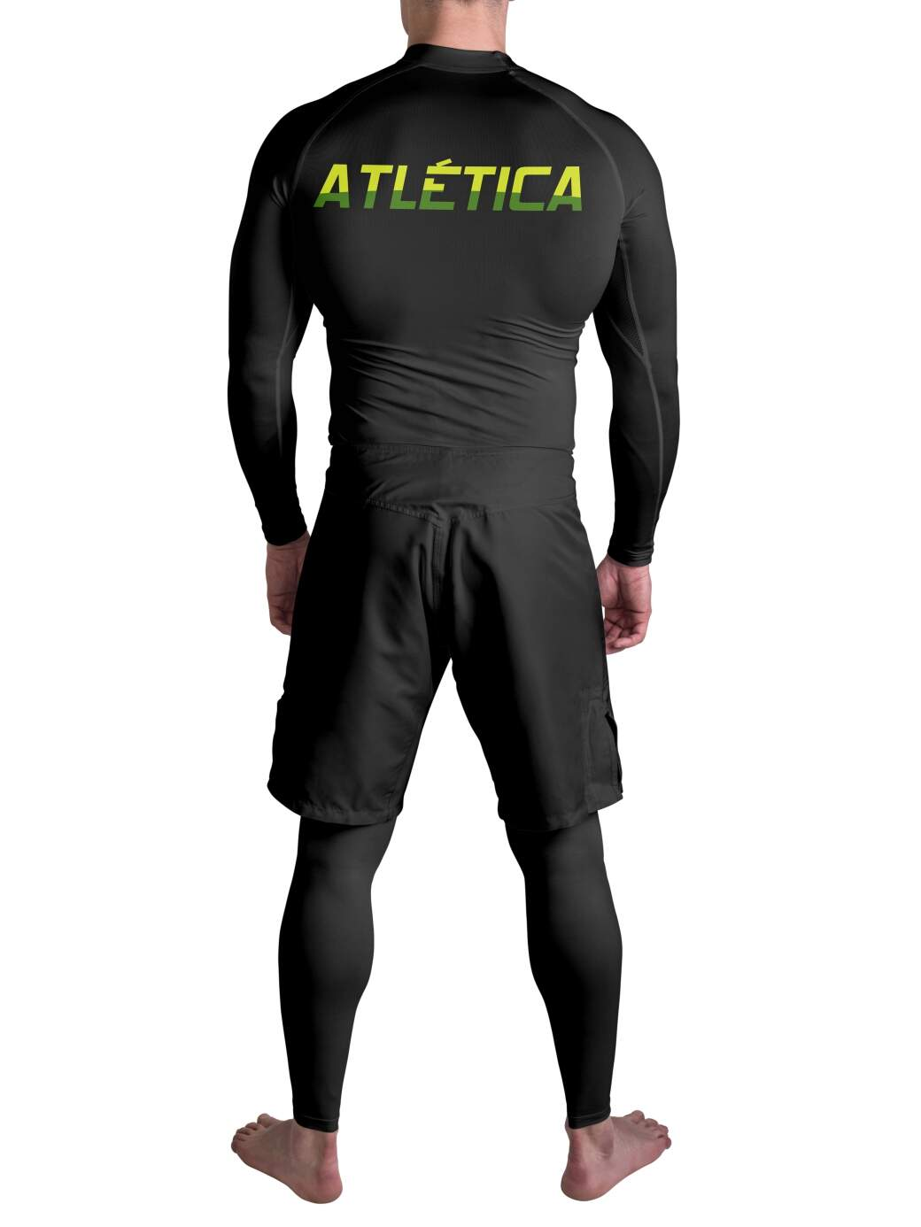Rash Guard Spider Green Atlética