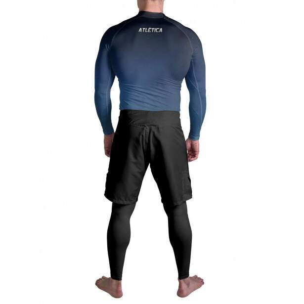 Rash Guard Jiu Jitsu Blue Atlética