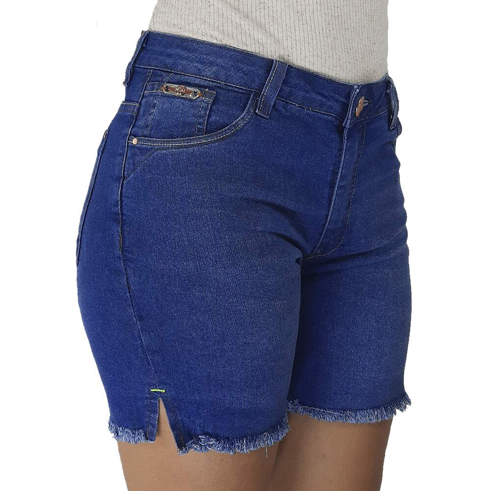 Short Feminino Max Denim 010 5136