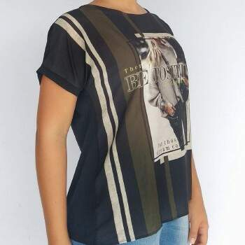 Blusa Miss Peck 132134 estampa