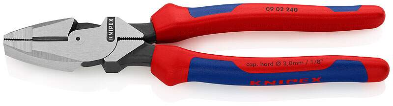 Alicate Universal 8  Linermans 240 mm - Knipex 09 02 240