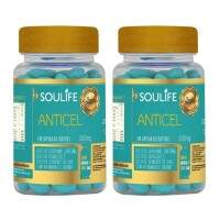 Anticelulite 500mg - 60 Cáps - Soulife - Combo 2 Unidades