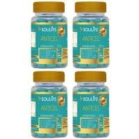 Anticelulite 500mg - 60 Cáps - Soulife - Combo 4 Unidades