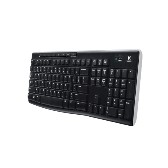 Teclado Wireless Logitech - K270