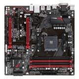 Placa-Mãe GIGABYTE p/ AMD AM4 mATX DDR4 - GA-AB350M-GAMING 3