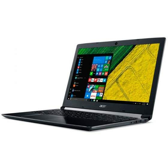 Notebook Acer Intel Core i5-7200U, RAM 8GB, HD 2TB, 15.6´, Windows 10 Home, Preto - A515-51G-50W8