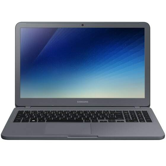 Notebook Samsung E20 Intel Dual Core, 4GB, HD 500GB, 15.6´, Windows 10 Home, Titanium - NP350XAA-KDABR