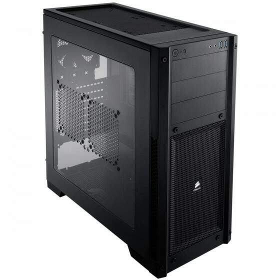 Gabinete Corsair Carbide 300R Black Windowed USB 3.0/Aud CC-9011017-WW