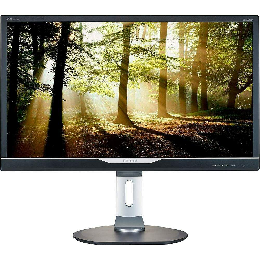 Monitor Philips LED 28´ Widescreen, 4K, HDMI/VGA/DVI/Display Port, Som Integrado - 288P6LJEB