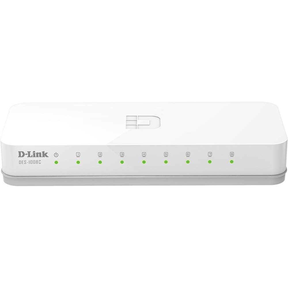 Switch D-link 08 portas 10/100 - DES-1008C