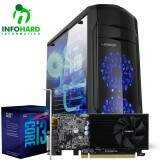 Computador Gamer Infohard Intel I3-8100, 4GB DDR4, 1TB HD, GT1030 2GB, 500W - 630810