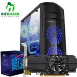Computador Gamer Infohard Intel I3-8100, 4GB DDR4, 1TB HD, GTX1050 2GB OC, 500W - 630813
