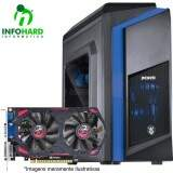 Computador Gamer Infohard Intel I5-7400, 4GB DDR3, 1TB HD, GTX 750 TI 2GB, 350W - 630823