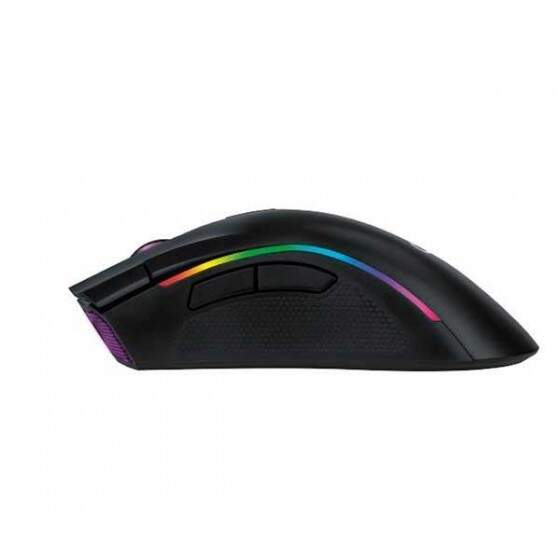 Mouse Gamer Oex Graphic 10000DPI Multicolor - MS-313