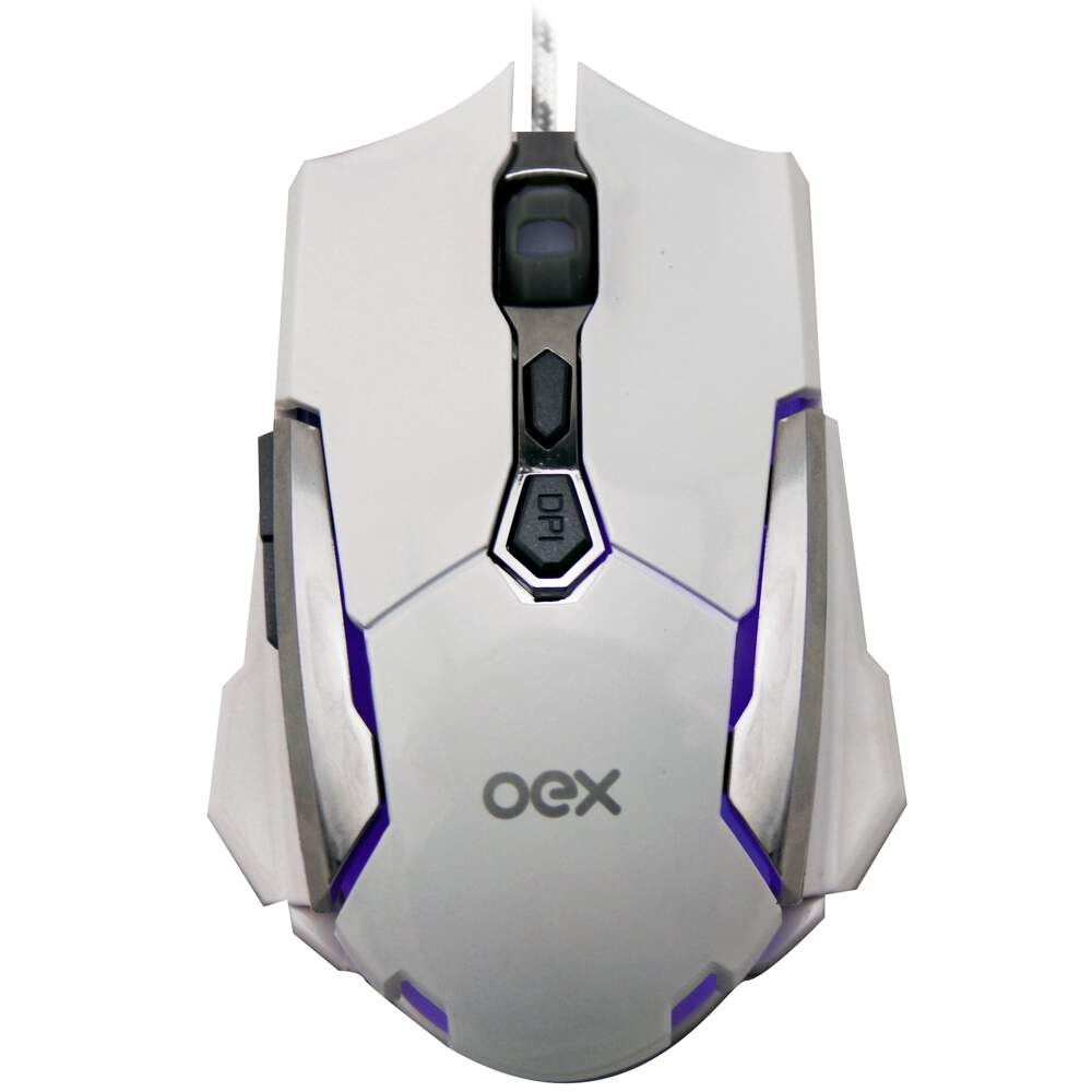 Mouse Gamer Oex Robotic 4000DPI - MS308