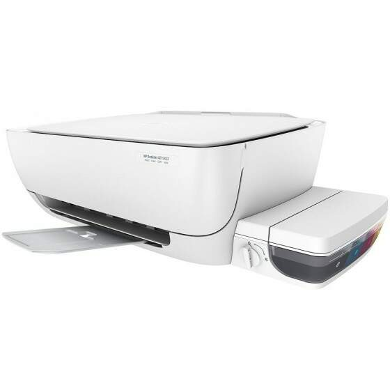 Multifuncional HP Deskjet, Color, USB, Branca - GT-5822
