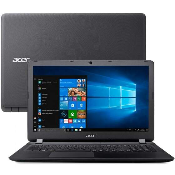 Notebook Acer Aspire Intel Celeron, 4GB, 500GB, 15,6´, Windows 10 Home - ES1-533-C8GL