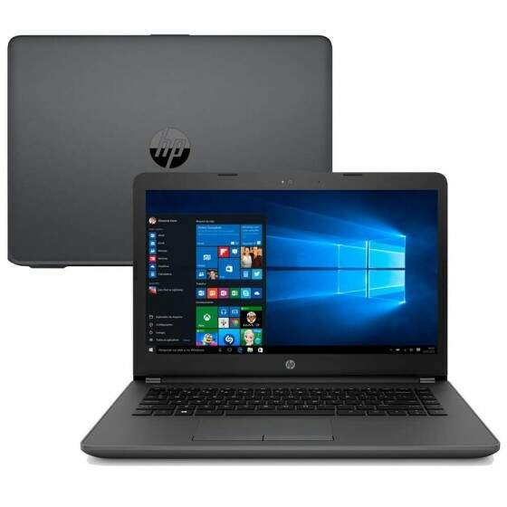Notebook HP 246 G6 Intel i3-7020U, 4GB, 500GB, 14´, Windows 10 Home - 3XU35LA