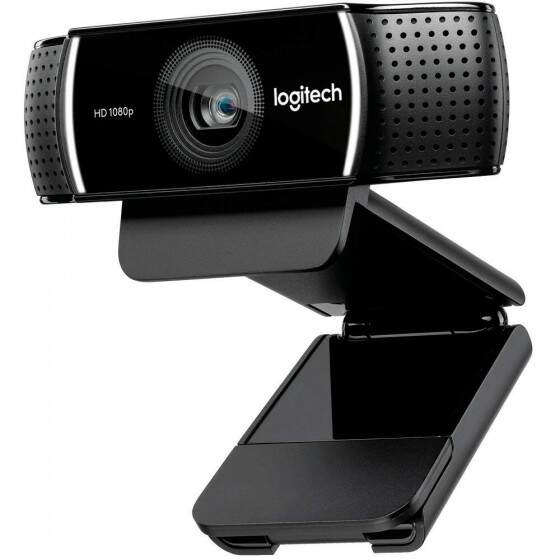 WebCam Logitech C922 Pro Stream Full HD 1080p/30fps 720p/60fps - 960-001087