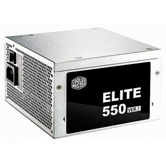 Fonte Cooler Master New Elite V3 550W - MPW-5501-ASAAN-BR