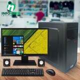 Computador Intel Dual Core 2,58GHZ, 4GB, 500GB + Monitor Acer 19,5 LED + Kit Periféricos