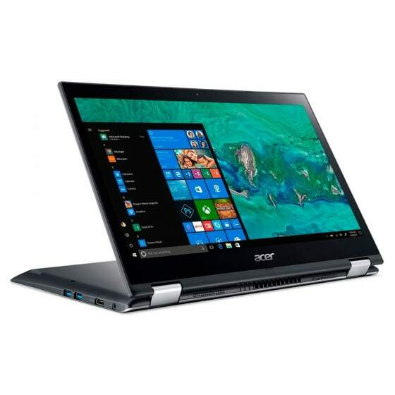 Notebook Acer Spin Touch Intel i3-7020U, 4GB, 1TB, 14´, Windows 10 Home - SP314-51-31RV