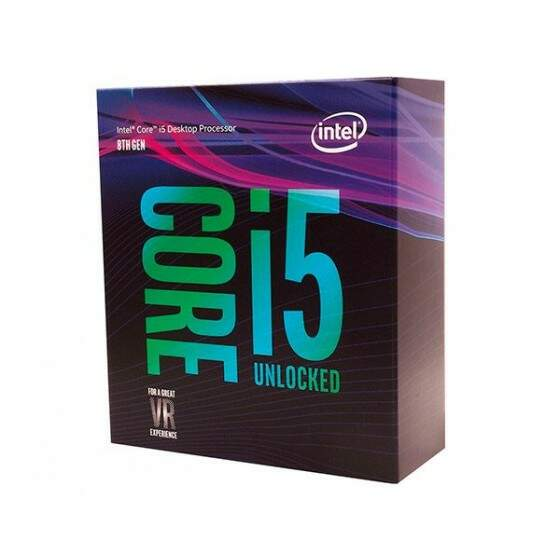 Processador Intel Core i5-8600 Coffee Lake LGA 1151 3.1Ghz 9MB Cache - BX80684I58600