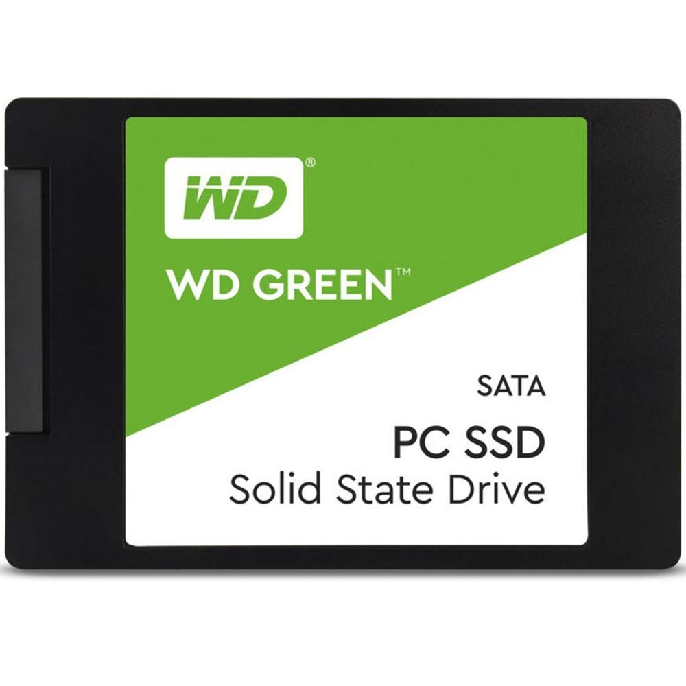 SSD WD Green 2.5´ 480GB SATA III 6Gb/s Leituras: 545MB/s - WDS480G2G0A