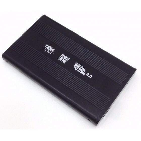 Case Gaveta para HD 2,5 Sata de Notebook USB 3.0 - DX-2530