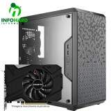 Computador Gamer Infohard Intel I5-8400, 8GB DDR4, HD 1TB, RTX 2060 6GB, 750W, H310M-HG4 - 631603