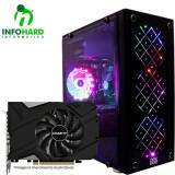 Computador Gamer Infohard Intel I3-8100, 16GB DDR4, HD 1TB, RTX 2060 6GB, 750W, H310M-HG4 - 631604