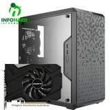 Computador Gamer Infohard Intel I3-8100, 16GB DDR4, HD 1TB, RTX2060 6GB, 750W, H310M-HG4 - 631610