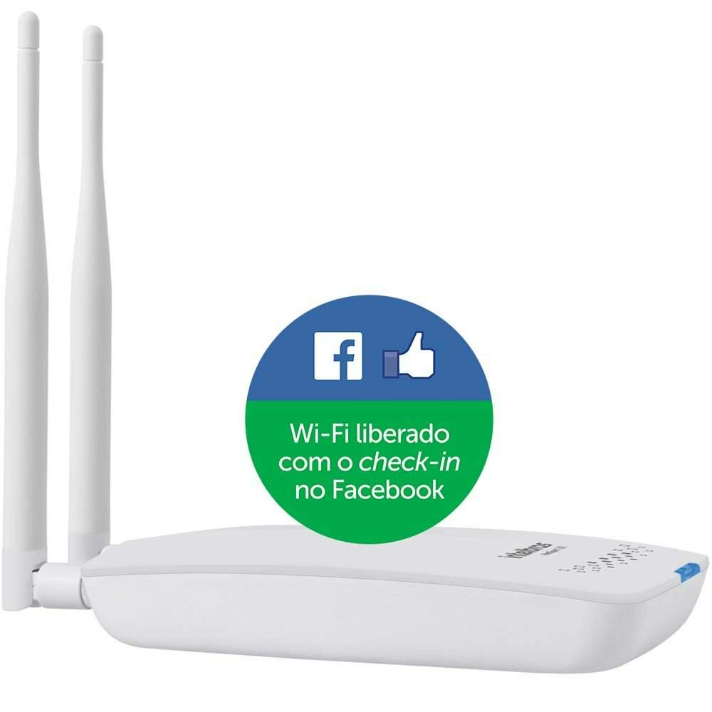 Roteador Wireless com check-in no Facebook - HOTSPOT300