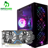 Computador Gamer Infohard Intel I7-8700, 8GB DDR4, 1TB HD, GTX1050TI 4GB, 500W, H310M S2 2.0 - 631733