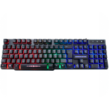 Teclado Kmex USB Gamer Rainbow com LED - KM-5228