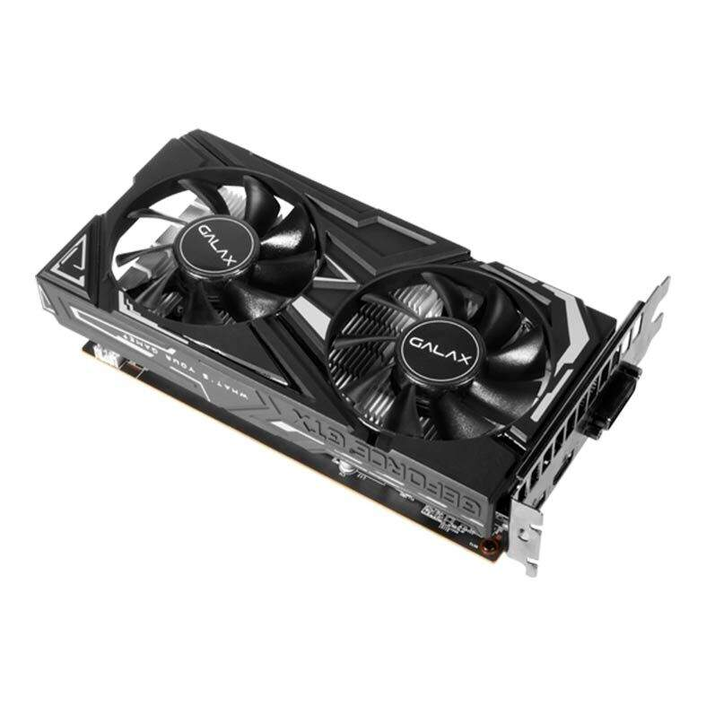 Placa de Video Galax GeForce GTX 1650 4GB DDR5 1-Click OC 128-bit - 65SQH8DS08EX