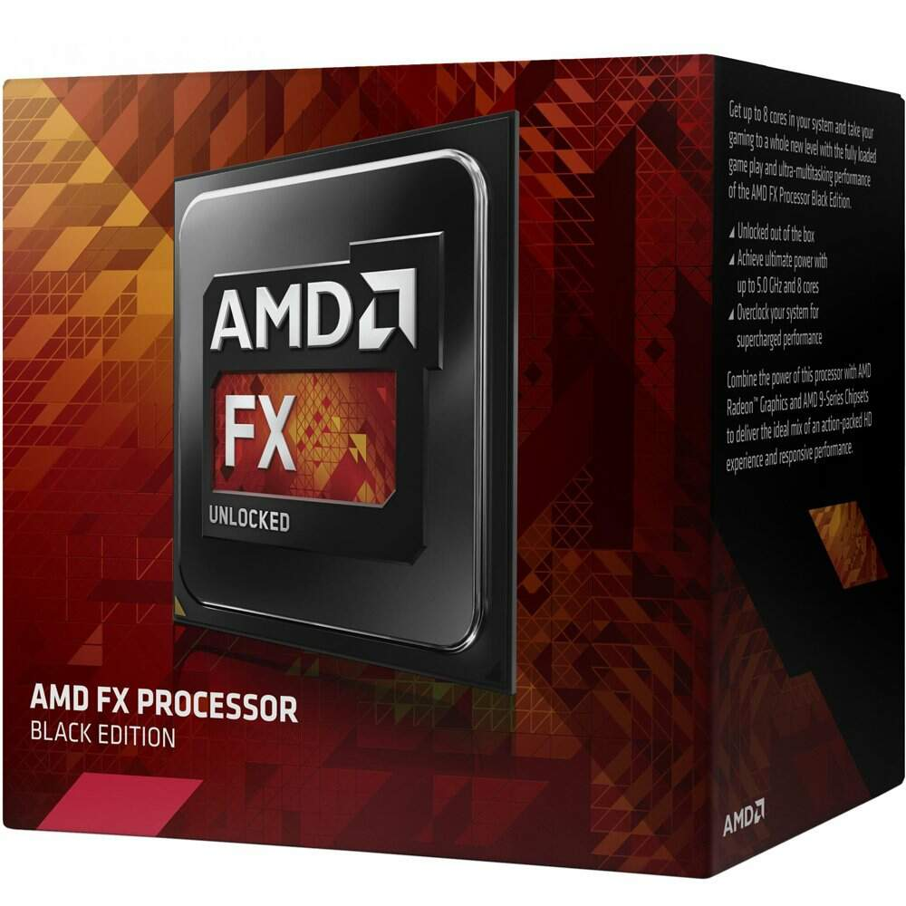 Processador AMD FX 4300, Black Edition, Cache 8MB, 3.8GHz, AM3+