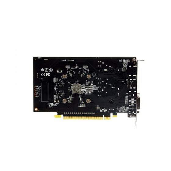 Placa de Vídeo GeForce GTX 1650 NVIDIA 4GB DDR5 128 Bits DVI HDMI DP Galax - 65SQH8DS21PY