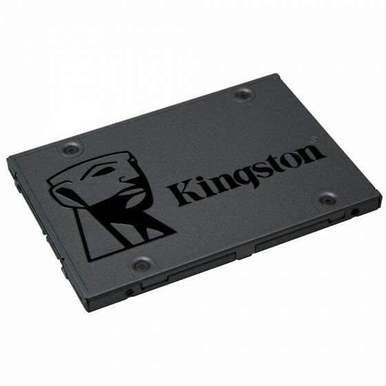 SSD Kingston 2.5´ 480GB A400 SATA III Leituras: 500MBs / Gravações: 450MBs
