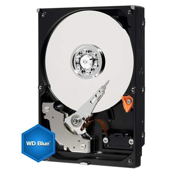 HD WD SATA 3,5´ Blue PC 1TB 7200RPM 64MB Cache SATA 6.0Gb/s - WD10EZEX