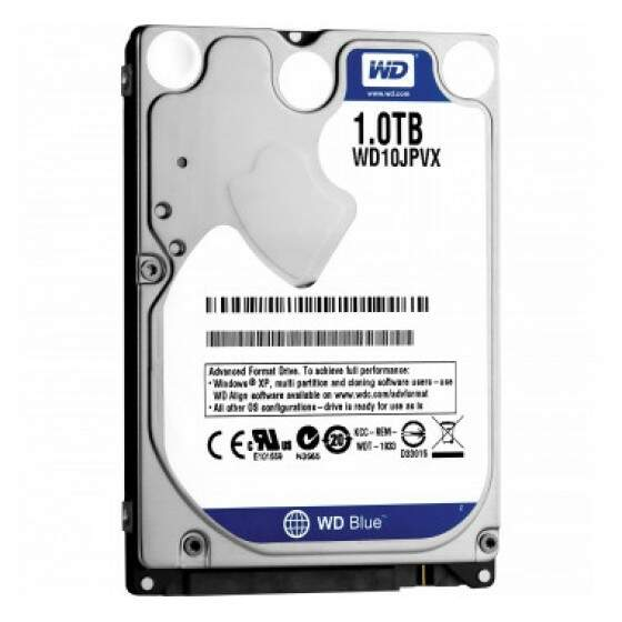 HD WD Notebook 1tb Sata 5400rpm