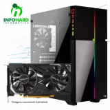 Computador Gamer Infohard Intel i5-9400,8GB DDR4, 120 GB SSD,GTX1050 TI 4GB, 500W 80PLUS ,H310M