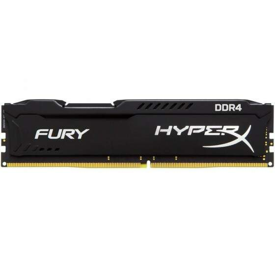 Memória Kingston HyperX FURY 8GB 2400Mhz DDR4 CL15 Black