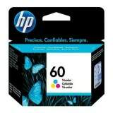 Cartucho de Tinta HP 60 Color CC643WB