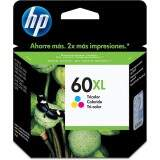Cartucho de Tinta HP 60XL Tricolor CC644WB