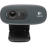 Webcam Logitech C270 HD 720p 3MP - 960-000947