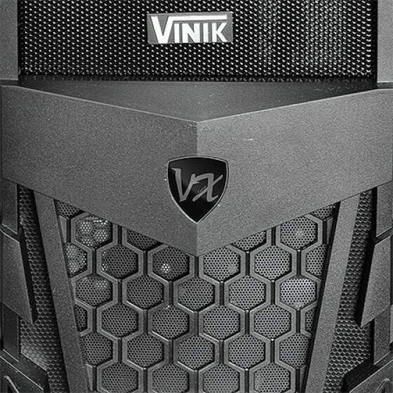 Gabinete Gamer Vinik Twister VX Black