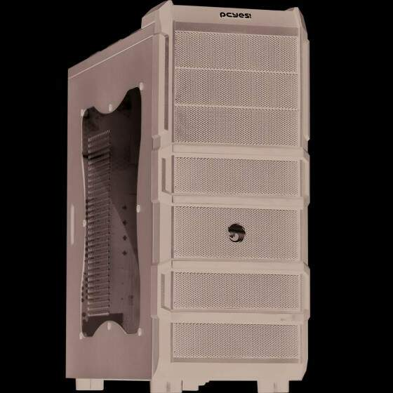 Gabinete S/Fonte PCYES Gamer Rhino 3 Fan 120mm
